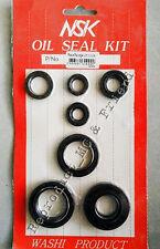 Yamaha DT100 MX100 (1974 - 1981) Oil Seal Kit Set (7 pcs. : set) New