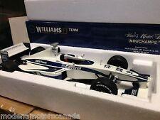 WILLIAMS F1 LAUNCH CAR YEAR 2000 RALF SCHUMACHER BY MINICHAMPS 1:18 2222 MADE