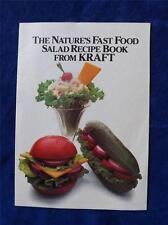 THE NATURES FAST FOOD SALAD RECIPE BOOK FROM CRAFT ADVERTISING 1984 CANADA