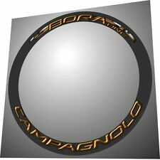 CAMPAGNOLO BORA ONE GOLD 3D DESIGN  RIM DECAL SET FOR 2 RIMS