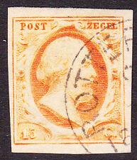 NVPH 3 Koning Willem 3 LuXe gerand Gebruikt Cataloguswaarde 170,00 E-2346