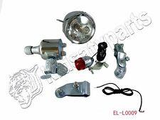 Motorized Bicycle Friction Generator Dynamo Headlight Tail Light new 6W 12V NEW