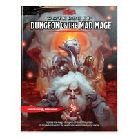 Dungeons & Dragons Waterdeep Dungeon of the Mad Mage Adventure DnD RPG