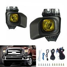 Yellow Driving Fog Lights Kit for Ford Super Duty F250 F350 F450 XLT 2011-2015