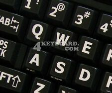 ENGLISH US LARGE LETTERING KEYBOARD STICKERS UPPER CASE
