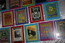 Concert Handbill Collection -18 Framed Promos -Hendrix to Kid Rock