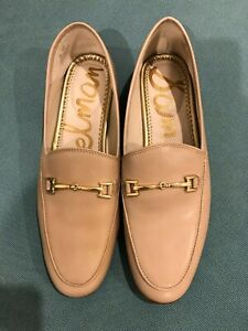 Sam Edelman Loraine Loafers - Brand New in Box -  8US - Beige Soft Leather.