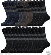 12 Pairs Quality Mens Rabbit Wool Heavy Duty Warm Crew Thermal Socks Size 10-15