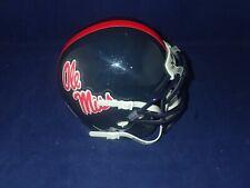 "University of Mississippi ""Ole Miss"" Schutt Mini Helmet - NEW - No Original Box"