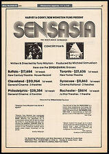 GENESIS IN CONCERT / WHITE ROCK__Original 1979 Trade print AD_poster_music promo