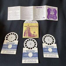 More details for rare vintage ~ coronation of queen elizabeth ii view-master 3 reel complete set
