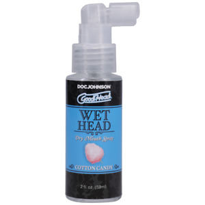 Good Head wet head for moisture and freshness during oral choice of flavour
