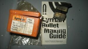 Lyman 358429 38/357 Caliber Bullet Mold 2 Cavity 168gr SWC New