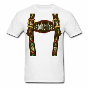 Spreadshirt Oktoberfest Lederhosen Suspenders Men's T-Shirt