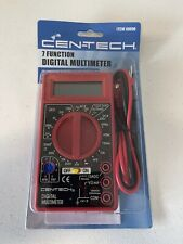 Cen Tech 7 Function Digital Multimeter Item 69096 Electrical Test Meter New