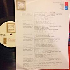 RADIO SHOW:SWAN SONGS 5/17/89 ROY ORBISON, RICK NELSON,DC5, BOBBY RYDELL,BEATLES