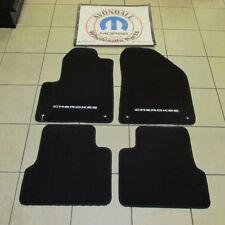 JEEP Cherokee  Premium Black Front and Rear Carpet Floor Mats NEW OEM MOPAR