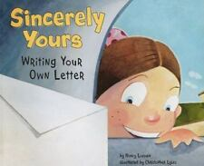 BOOK Writers Toolbox Sincerely Yours Writing Your Own Letter by Nancy Loewen NEW