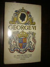 GEORGES VI - Hector Bolitho 1938
