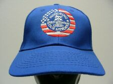 SPIRIT MOUNTAIN CASINO - HONORING OUR HEROES - ONE SIZE ADJUSTABLE BALL CAP HAT!