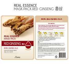 Jluna Korean Cosmetics Natural Plant Essences Face Mask Pack 1PC Red Ginseng