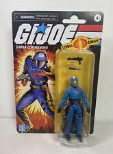 2020 Hasbro G.I. Joe Retro 3.75 Inch Action Figure: COBRA COMMANDER (Exclusive)