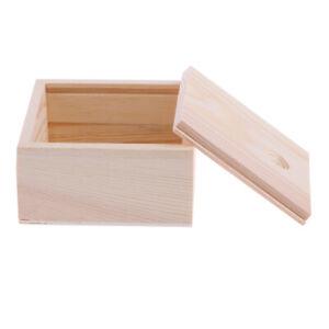 Kleine einfache dekorative hölzerne Aufbewahrungsbox Schmuck kleine Gadgets