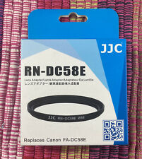 JJC RN-DC58E Filter Adapter Ring for CANON PowerShot G1 X Mark II repl. FA-DC58E
