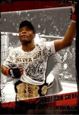 Anderson Silva Single Mixed Martial Arts (MMA) Trading Cards