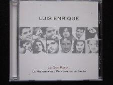 Luis Enrique - Lo Que Paso... La Historia Del Principe De La Salsa (CD)
