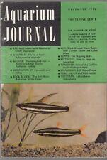 [34636] AQUARIUM JOURNAL MAGAZINE DECEMBER 1959 VOL. 30, No. 12