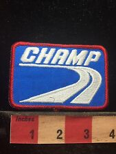 Vtg CHAMP Uniform Or Advertising Patch C762