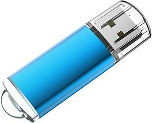 Windows 11 Home Operating System installed with a light blue flash drive.