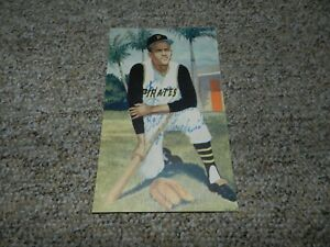 ROBERTO CLEMENTE PIRATES HAND SIGNED PICTURE !!