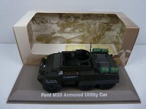 BL6H atlas IXO 1/43 Blindés WW2 : Ford M20 Armored Utility Car US army USA