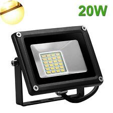 20W LED Flood Light Outdoor Landscape Garden Lamp Waterproof Warm White 12V