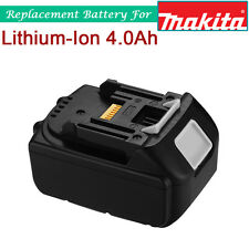 New 18V 4.0Ah LXT Lithium-Ion Battery for Makita BL1815 BL1830 BL1840 BL1850