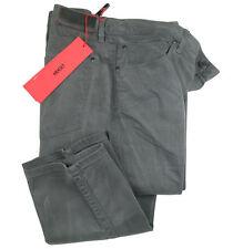 BOSS HUGO Jeans 708 in 38/34 grey wrinkle bleach STRETCH