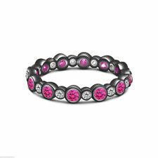 Diamond Engagement Eternity Round Fine Gemstone Rings