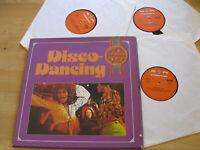 3 LP Box Disco Dancing Orchester Jo Ment Noris Vinyl SR International 38 104 6