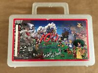 100 Years Of Magic Disney Sparkly Plastic Lunchbox Made In USA Vintage Whirley