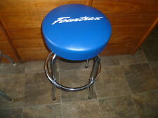 HONDA RED FOURTRAX TRX SEAT Bar Counter STOOL with Swivel & chrome frame