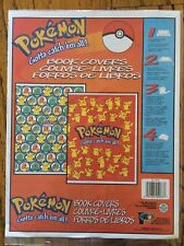 Vintage NINTENDO Pokemon Book Covers pack of 2