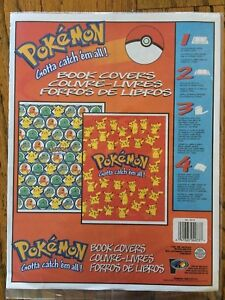 Vintage NINTENDO Pokemon Book Covers