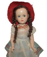 Vintage Madame Alexander Margaret O'Brien 17.75 Inch Doll