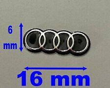 LOGO Sticker Emblème Adhésif pour CLÉ PLIP Audi A1 A3 A4 A5 A6 A8 TT Q7 A7 Q5 Q3
