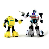 Autobot Collection Transfor G1 Masterpiece Jazz & Bumblebee Figure Action Toy