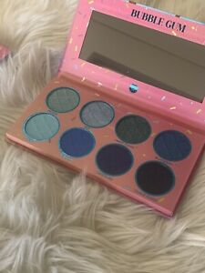 Bh Cosmetics Sweet Shoppe Eyeshadow Palette Bubble Gum New Authentic Blue