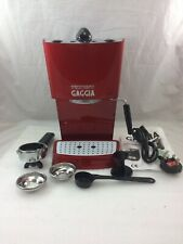 GAGGIA ESPRESSO COLOUR BARISTA STYLE COFFEE MACHINE RED - 3 LOW PRESSURE BASKETS