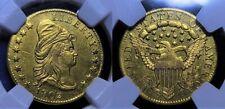 1802/1 Gold Quarter Eagle  $2 1/2 NGC MS 61